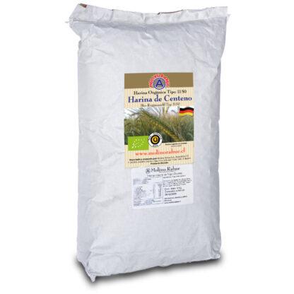 Harina de Centeno Bio, 25 Kg
